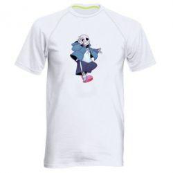 Чоловіча спортивна футболка Sans smile