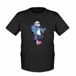 Дитяча футболка Sans smile