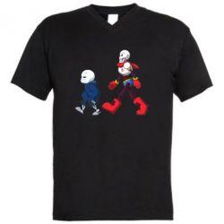 Чоловіча футболка з V-подібним вирізом Sans walking