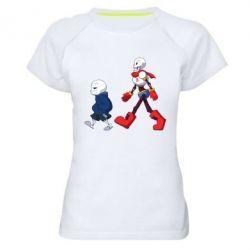 Жіноча спортивна футболка Sans walking