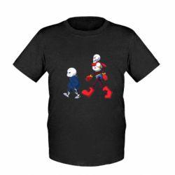 Дитяча футболка Sans walking