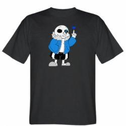 Чоловіча футболка Sans with heart