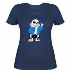 Жіноча футболка Sans with heart