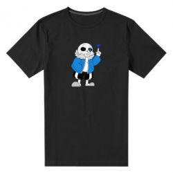 Чоловіча стрейчева футболка Sans with heart