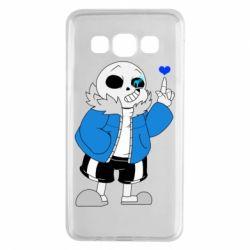 Чохол для Samsung A3 2015 Sans with heart