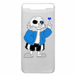 Чохол для Samsung A80 Sans with heart