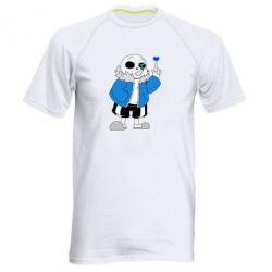 Чоловіча спортивна футболка Sans with heart