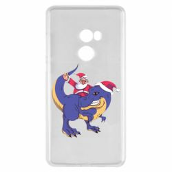 Чехол для Xiaomi Mi Mix 2 Santa and T-Rex
