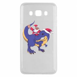 Чехол для Samsung J5 2016 Santa and T-Rex