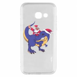 Чехол для Samsung A3 2017 Santa and T-Rex