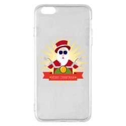 Чехол для iPhone 6 Plus/6S Plus Santa biker