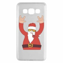 Чохол для Samsung A3 2015 Santa Claus with a tube