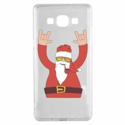 Чохол для Samsung A5 2015 Santa Claus with a tube