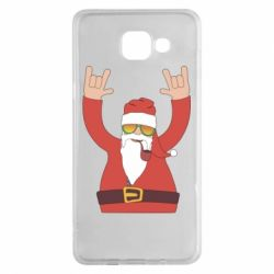 Чохол для Samsung A5 2016 Santa Claus with a tube