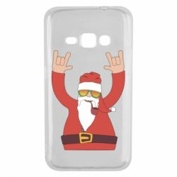 Чохол для Samsung J1 2016 Santa Claus with a tube