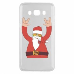 Чохол для Samsung J5 2016 Santa Claus with a tube