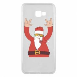 Чохол для Samsung J4 Plus 2018 Santa Claus with a tube
