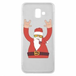 Чохол для Samsung J6 Plus 2018 Santa Claus with a tube