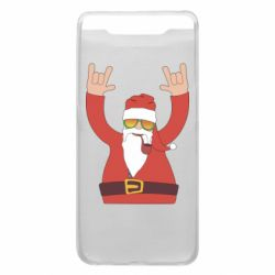 Чохол для Samsung A80 Santa Claus with a tube