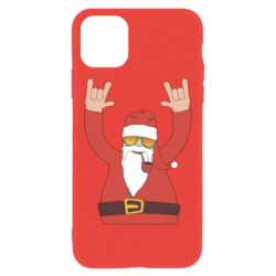 Чохол для iPhone 11 Santa Claus with a tube