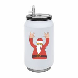 Термобанка 350ml Santa Claus with a tube