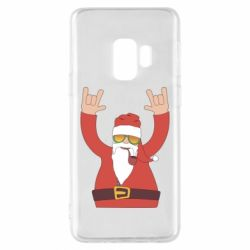 Чохол для Samsung S9 Santa Claus with a tube