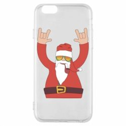 Чохол для iPhone 6/6S Santa Claus with a tube
