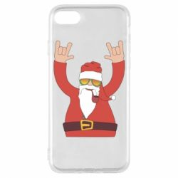 Чохол для iPhone 8 Santa Claus with a tube