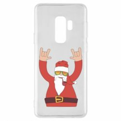 Чохол для Samsung S9+ Santa Claus with a tube
