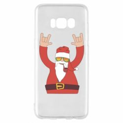 Чохол для Samsung S8 Santa Claus with a tube