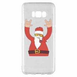 Чохол для Samsung S8+ Santa Claus with a tube