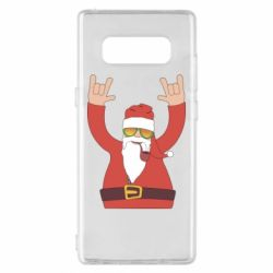 Чохол для Samsung Note 8 Santa Claus with a tube