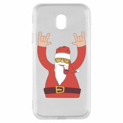 Чохол для Samsung J3 2017 Santa Claus with a tube