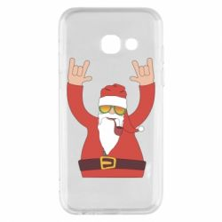 Чохол для Samsung A3 2017 Santa Claus with a tube