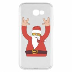 Чохол для Samsung A7 2017 Santa Claus with a tube