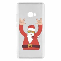 Чохол для Xiaomi Mi Note 2 Santa Claus with a tube