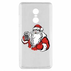 Чехол для Xiaomi Redmi Note 4x Santa Claus with beer