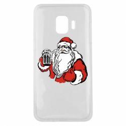 Чехол для Samsung J2 Core Santa Claus with beer