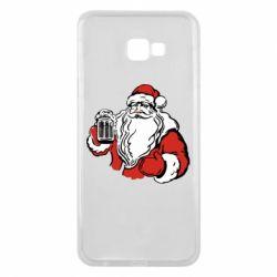 Чехол для Samsung J4 Plus 2018 Santa Claus with beer