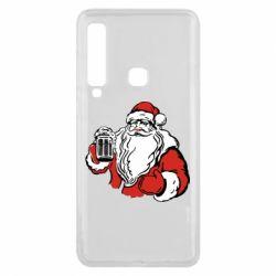 Чехол для Samsung A9 2018 Santa Claus with beer