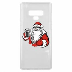 Чехол для Samsung Note 9 Santa Claus with beer