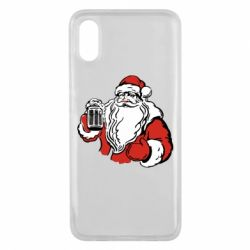Чехол для Xiaomi Mi8 Pro Santa Claus with beer