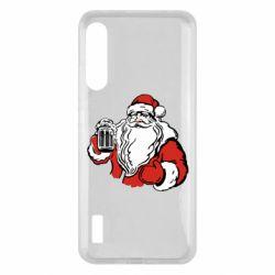 Чохол для Xiaomi Mi A3 Santa Claus with beer