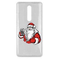 Чехол для Xiaomi Mi9T Santa Claus with beer