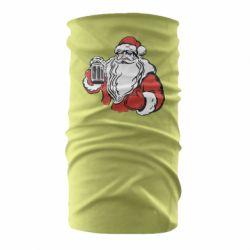 Бандана-труба Santa Claus with beer