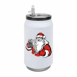 Термобанка 350ml Santa Claus with beer