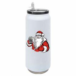 Термобанка 500ml Santa Claus with beer