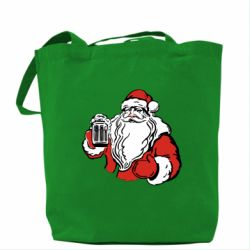 Сумка Santa Claus with beer