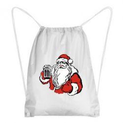 Рюкзак-мешок Santa Claus with beer