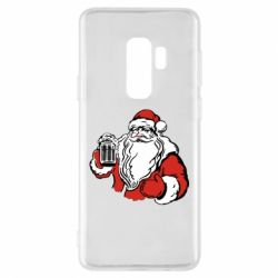 Чехол для Samsung S9+ Santa Claus with beer